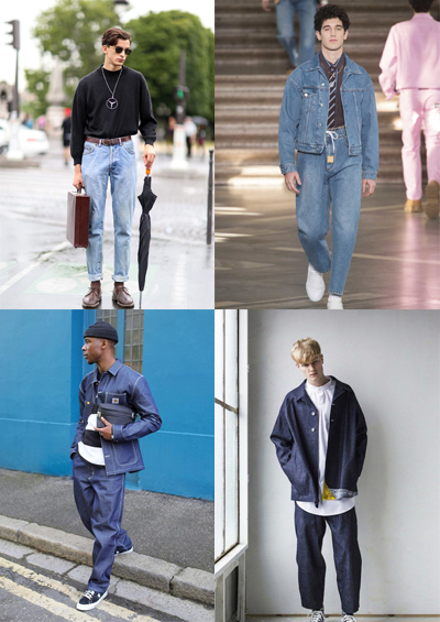 dad denim men's fashion trends for 2018