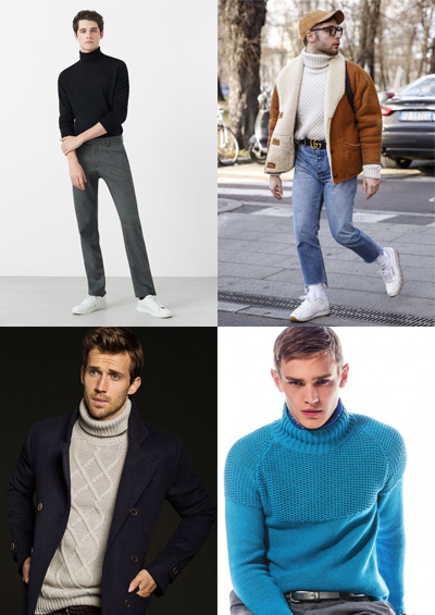 turtle neck men's fashion trends for 2018