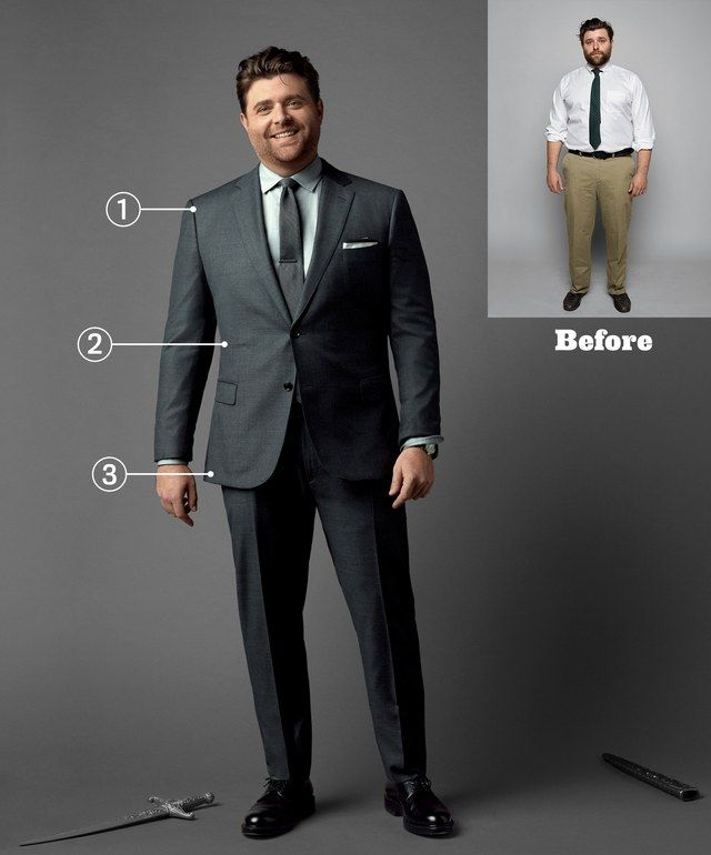 dress up to look slimmer