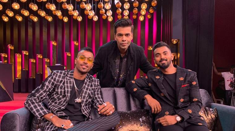 Hardik pandya in koffee with karan