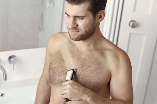 men's chest hair