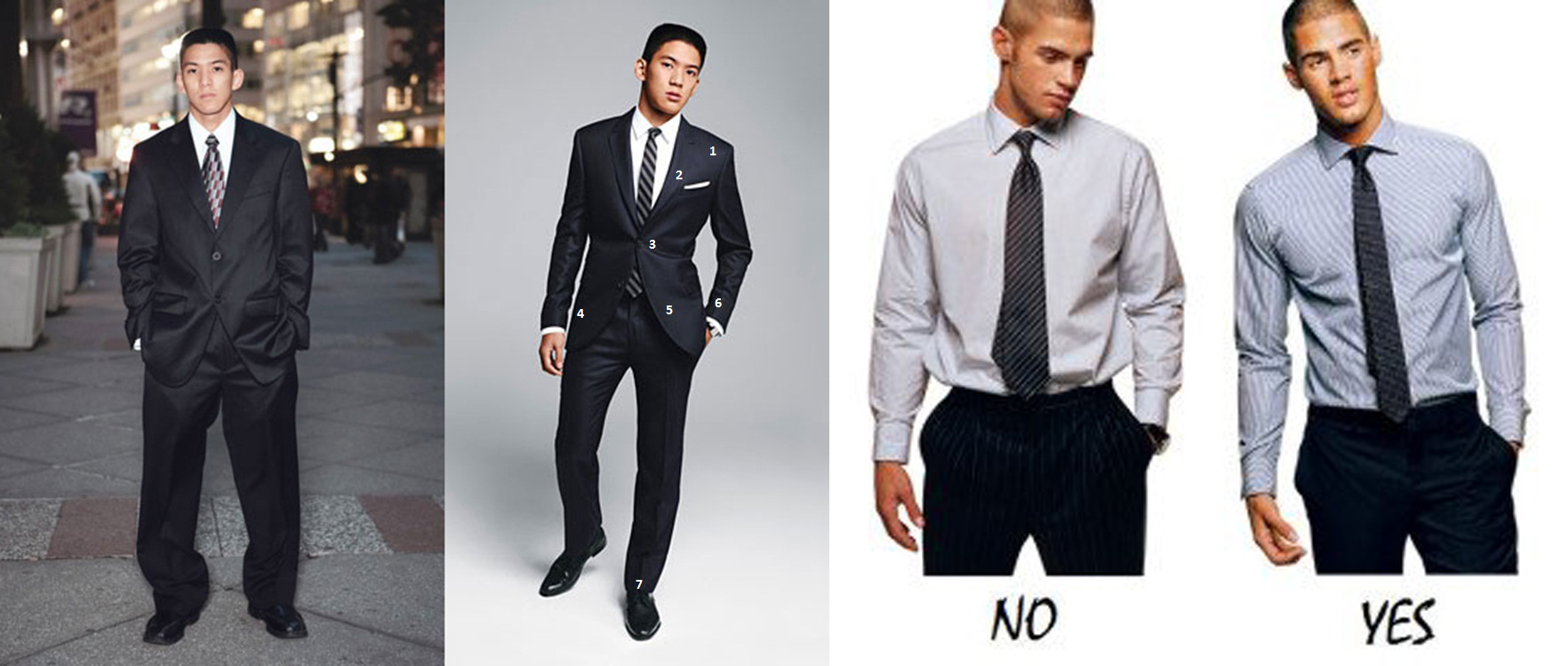 dress up to look taller