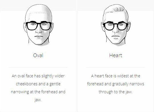 e62d53b949 It will accentuate the broadest part of the face. The same goes for Heart shaped  faces. Eyeglass Frame