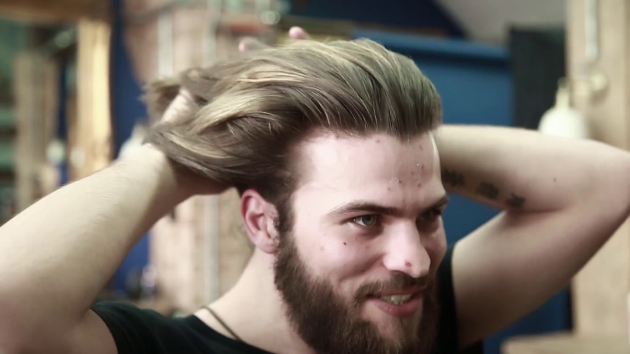 how to grow long hair for men