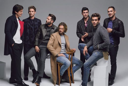 top male models