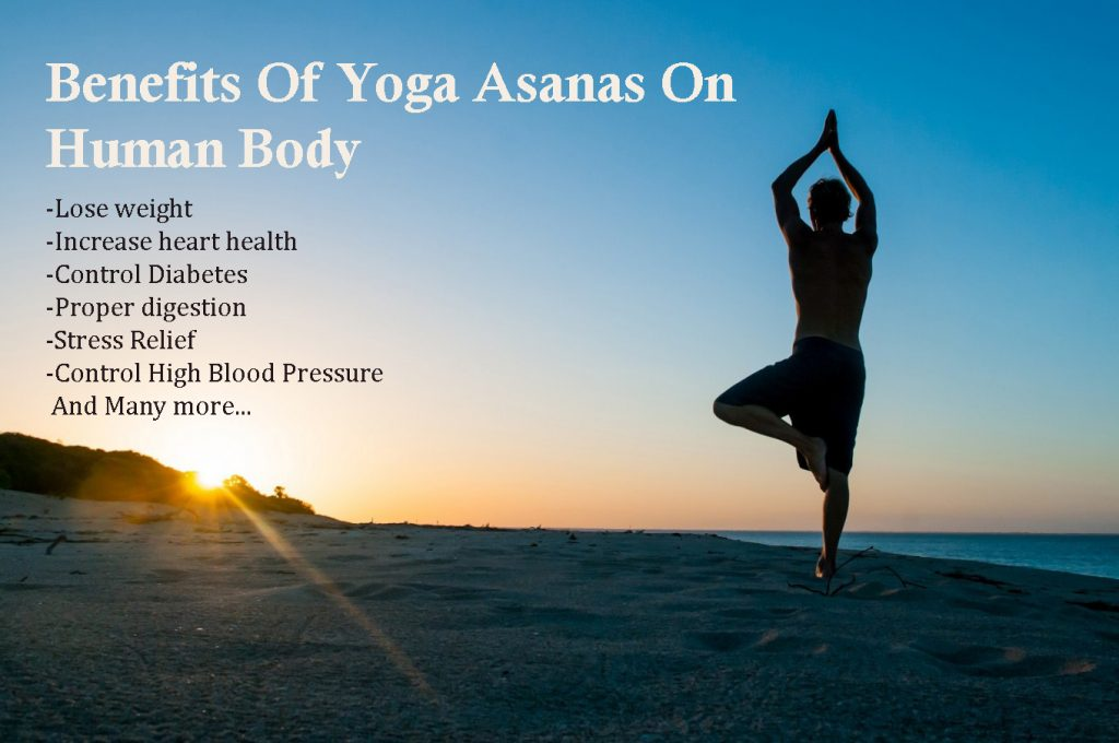 benefits of yoga asanas on human body