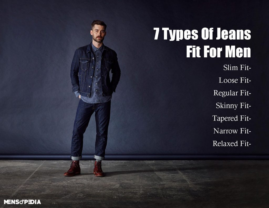 types of jeans fit for men