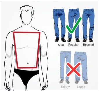 Jeans Fitting For Athletic Body Type