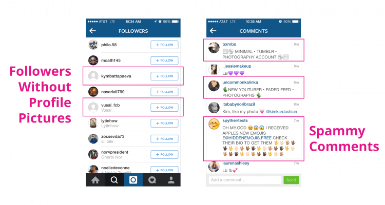 Instagram Takes Away The Fake Followers