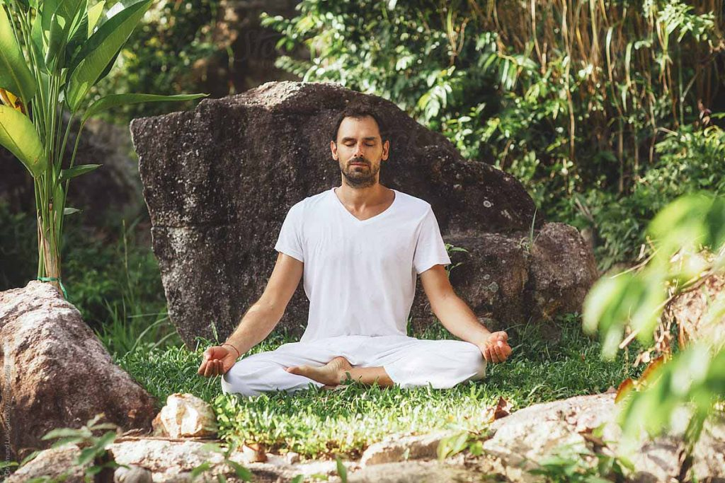 Meditation is the key on how to control lusting after someone
