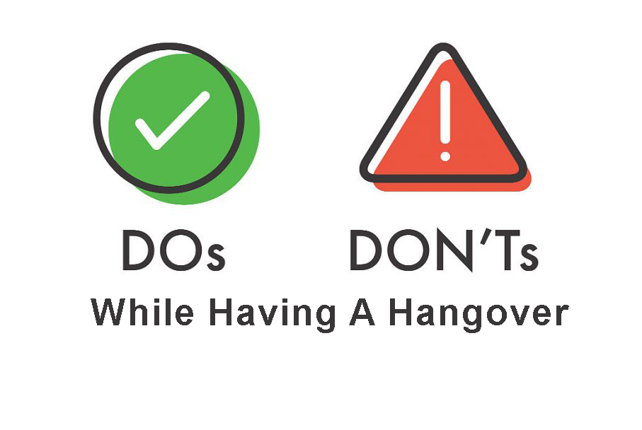 do's and don'ts of a hangover