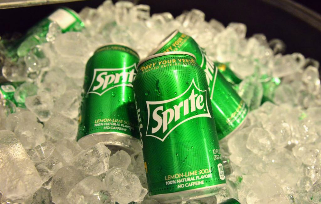 drink sprite to reduce hangover