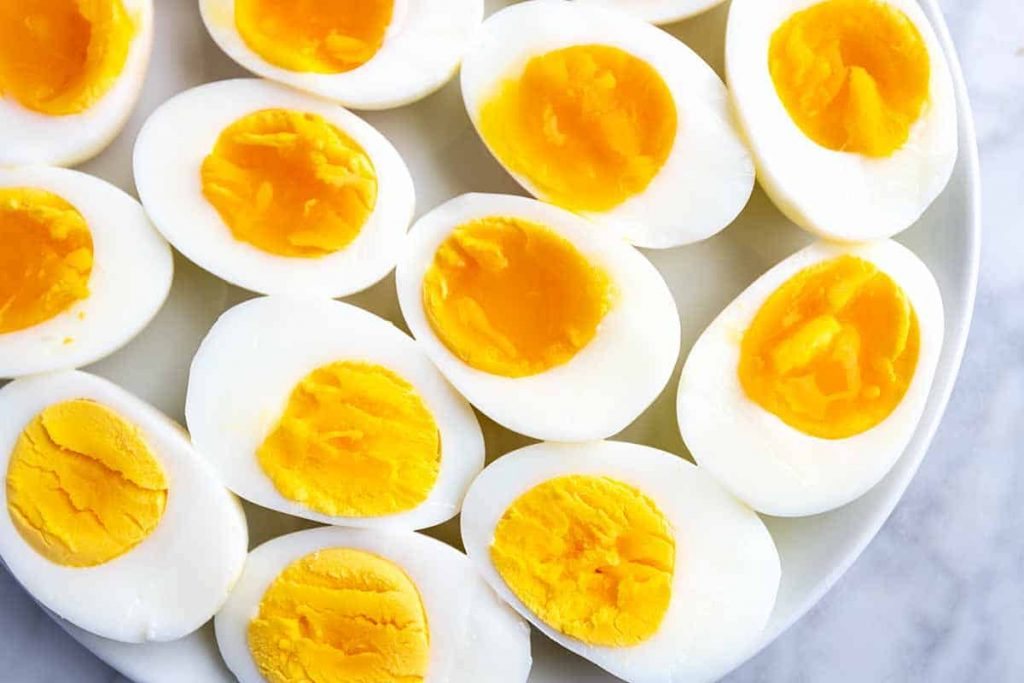have eggs to get rid of hangover