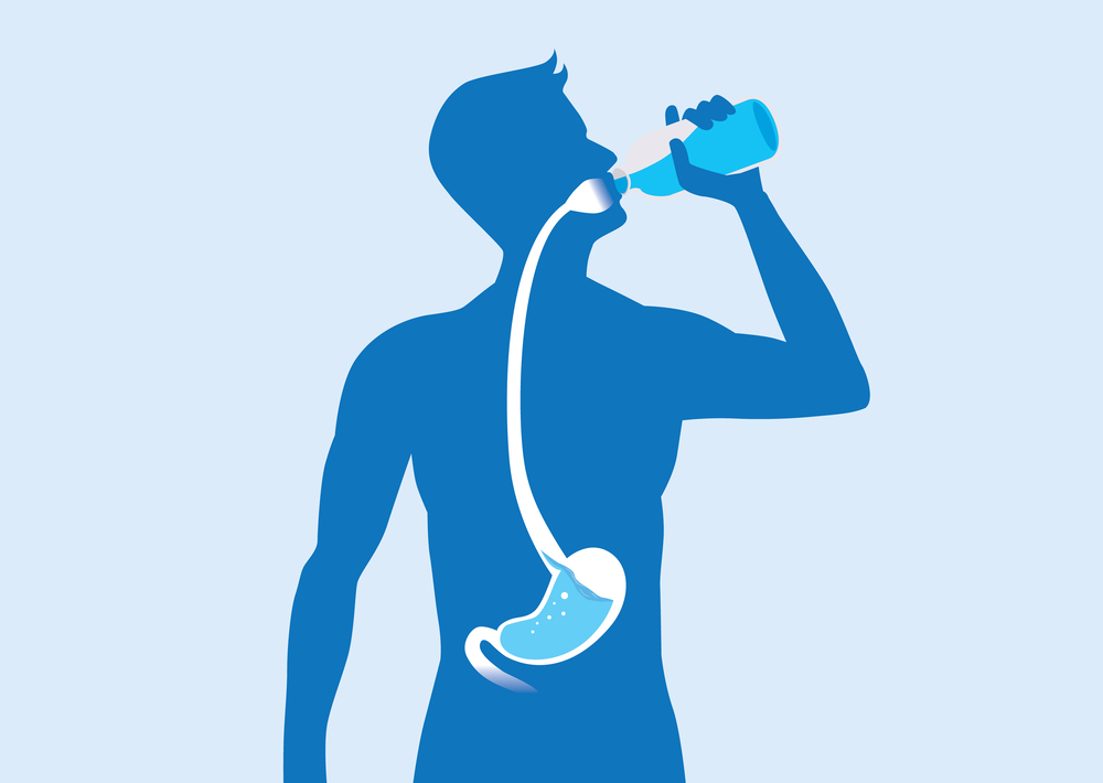 hydrate body to get rid of hangover