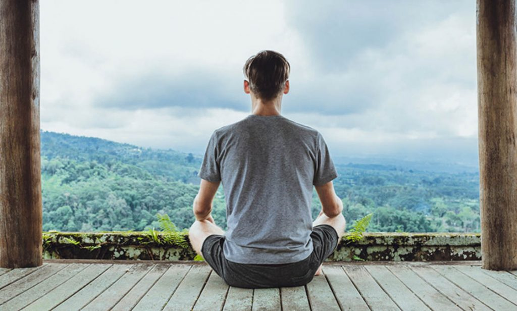 meditate to find inner peace