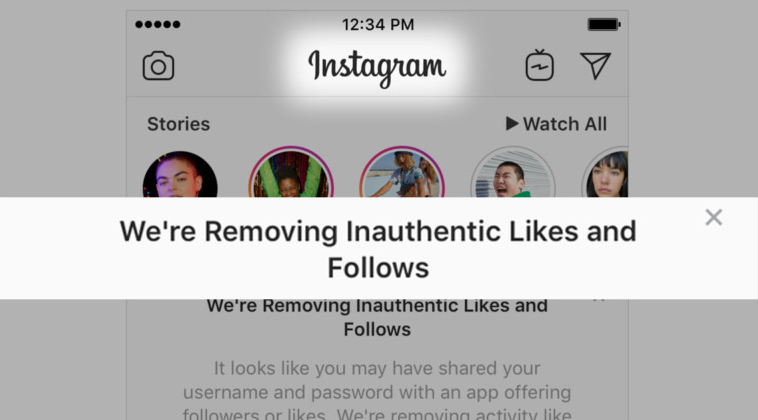 never violate instagrams terms and conditions