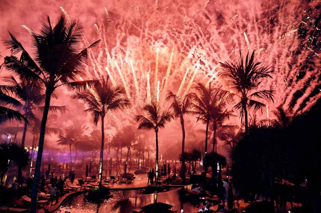 best place to party on new year's eve is bali