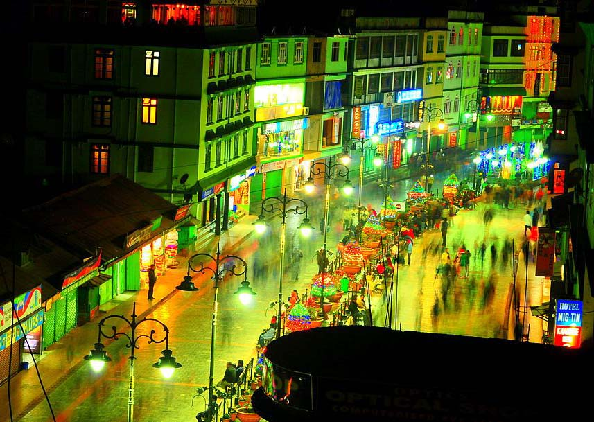 best place to party in India is gangtok