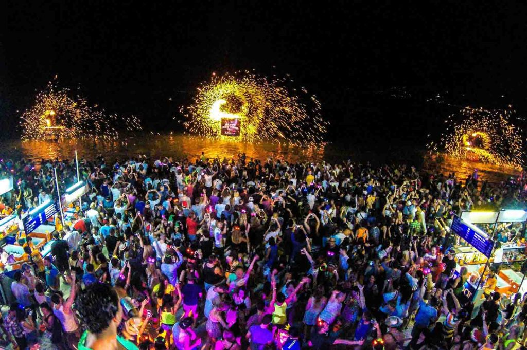best place to party in India is pondicherry