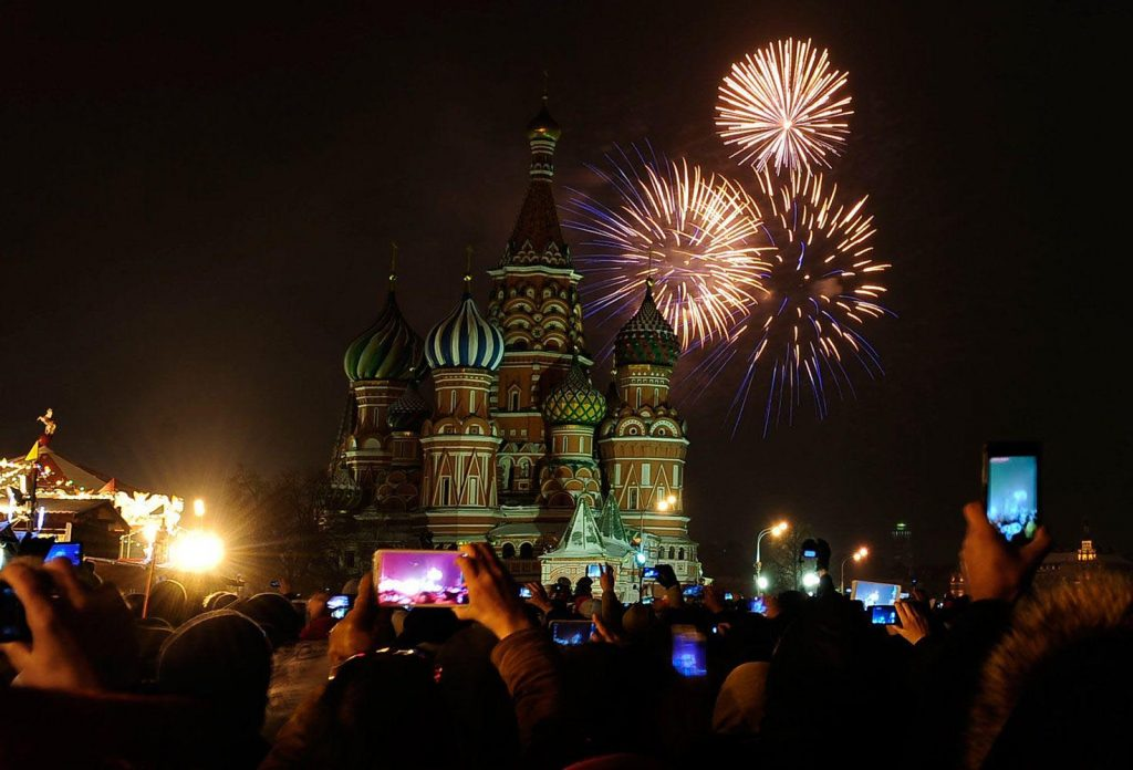 new year party destination russia