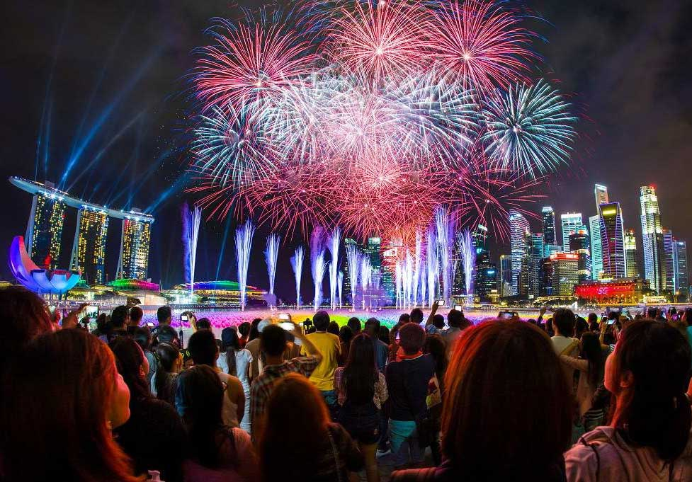 best place to party on new year's eve is singapore
