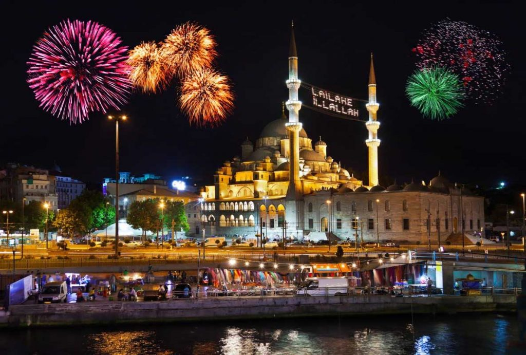 best place to party on new year's eve is turkey