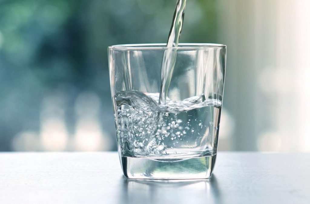 sip clean water every now and then to get rid of hangover