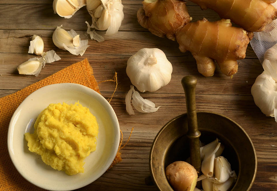 superfood ginger and garlic