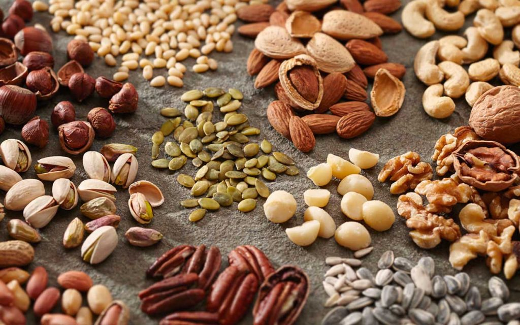 superfood seeds and nuts
