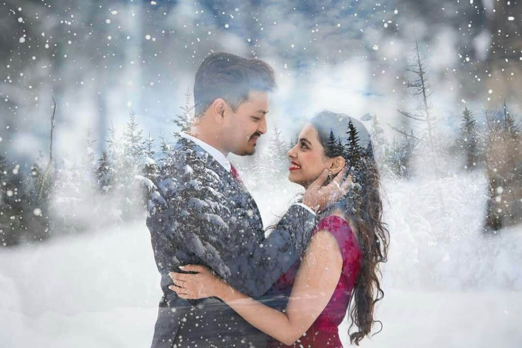 Choose Your Outfit Depend Upon The Season In Your Pre-Wedding Shoot