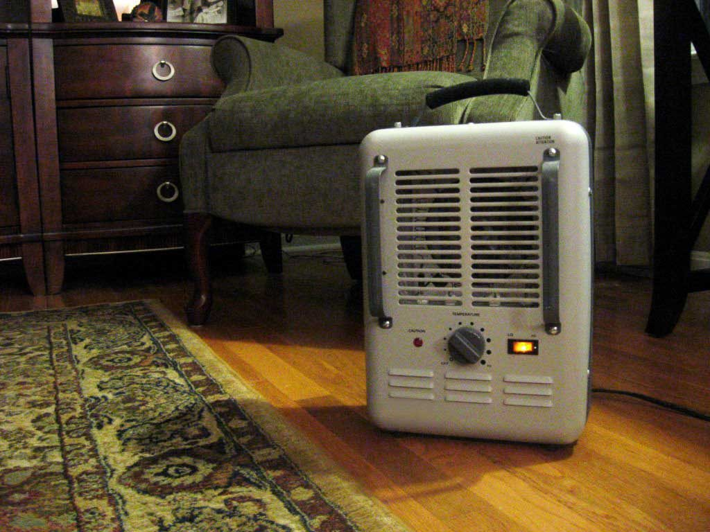 why not using a room heater in winter in India