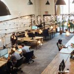 Co-working space system in India