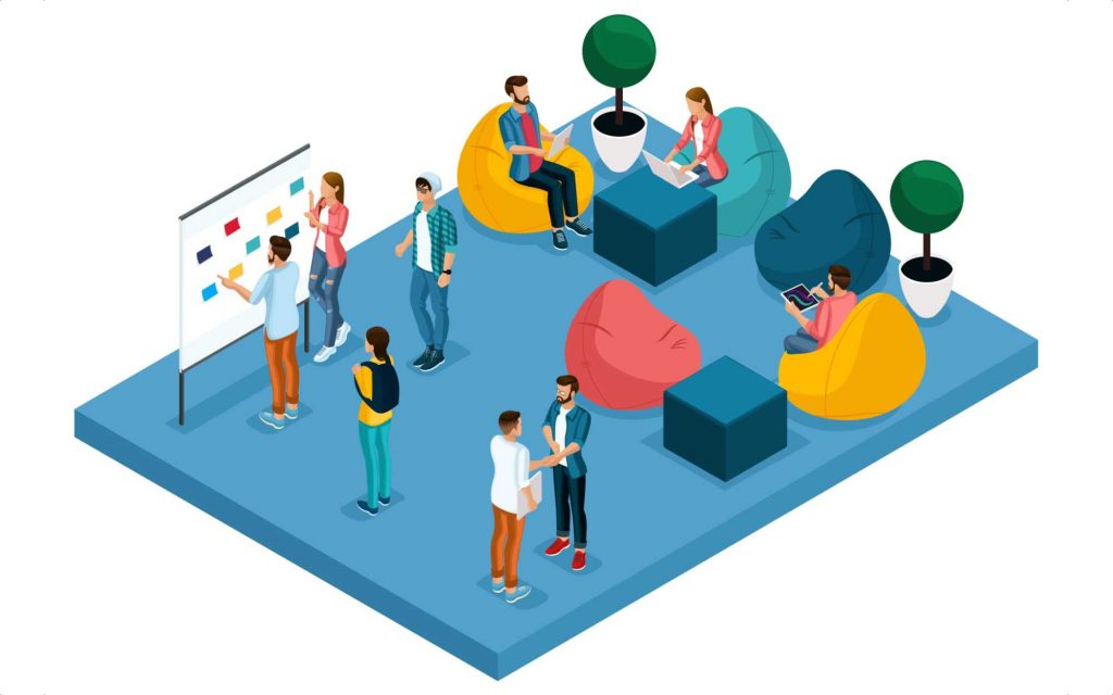How Does Co-work Space System Work