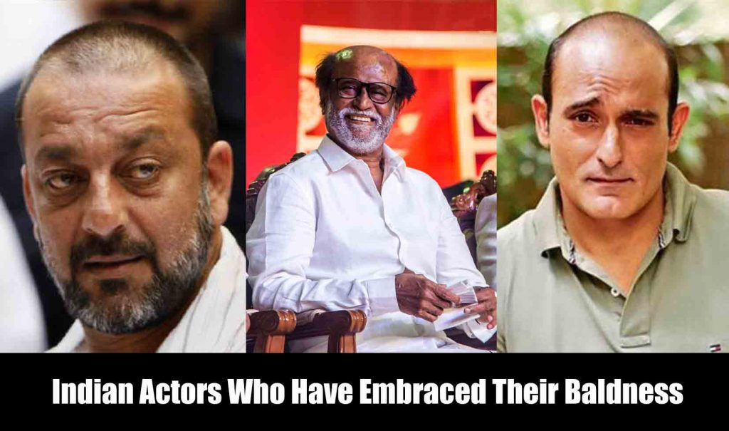 Indian Actors Who Have Embraced Their Baldness