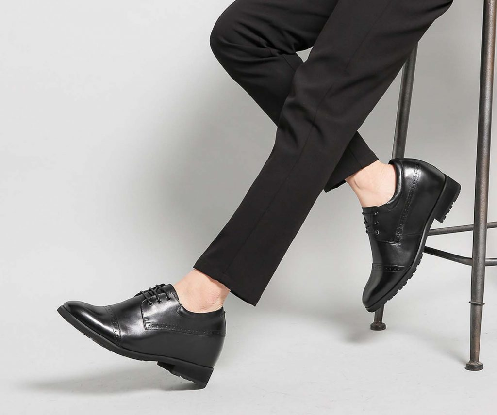 Opt For Formal Shoes With Heels To Look Taller