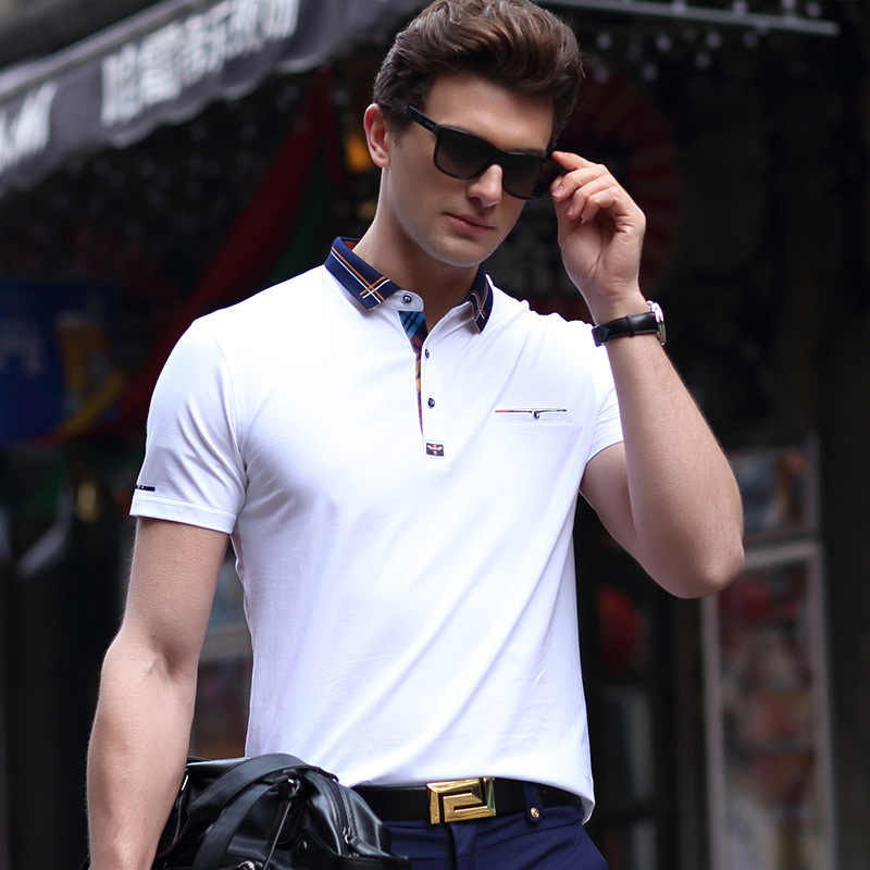 Polo Neck T-shirt Fashion