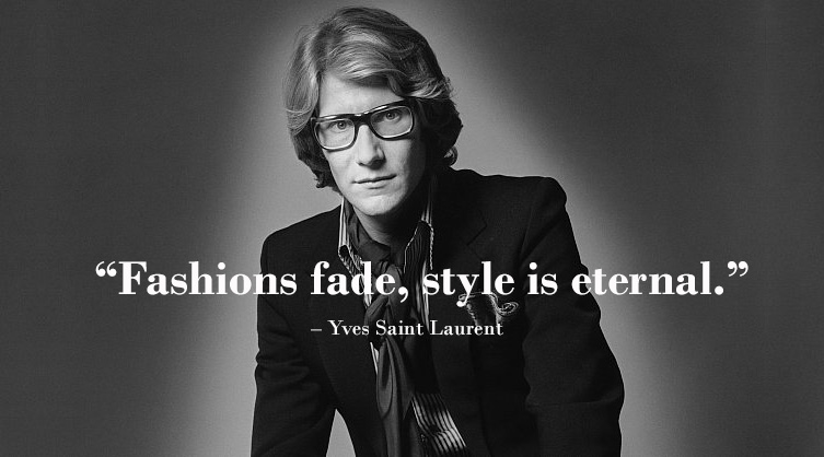 Yves-Saint-Laurent-Quotes