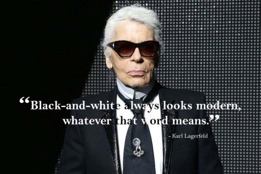 karl lagerfeld famous quotes