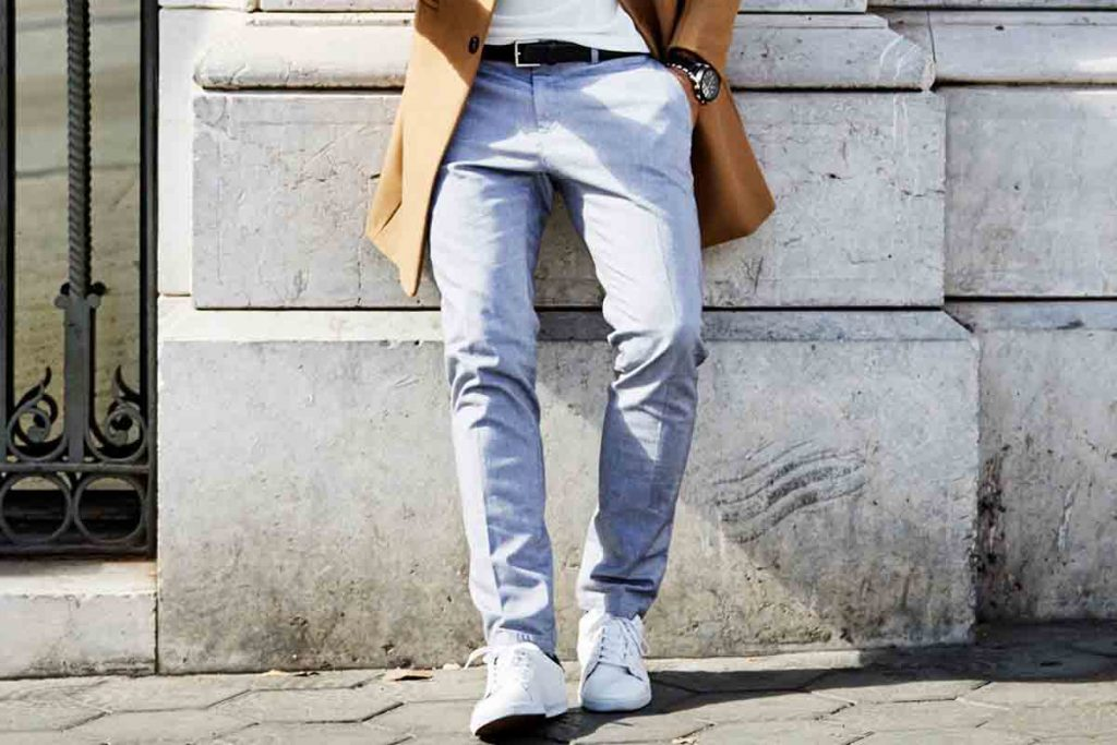 Casual trousers for gentleman
