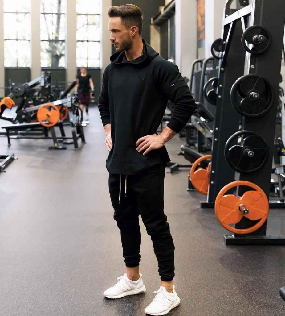 men gym outfit joggers fashion