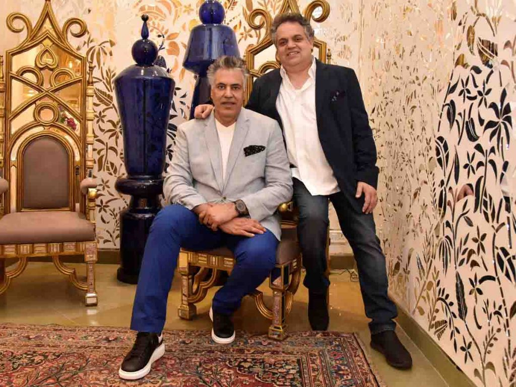 top fashion designer Abu Jani & Sandeep Khosla