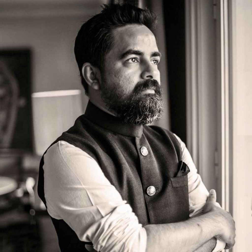 top fashion designer Sabyasachi Mukherjee