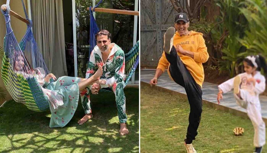 Akshay Kumar Spending Time During Corona Virus Outbreak