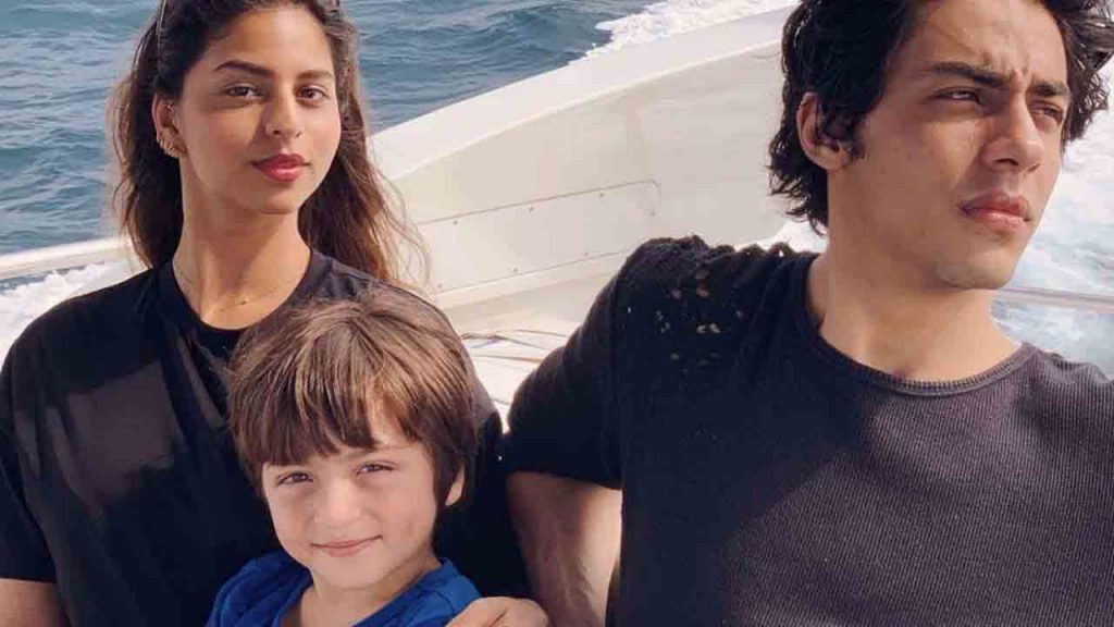 Bollywood star kid Abram Khan