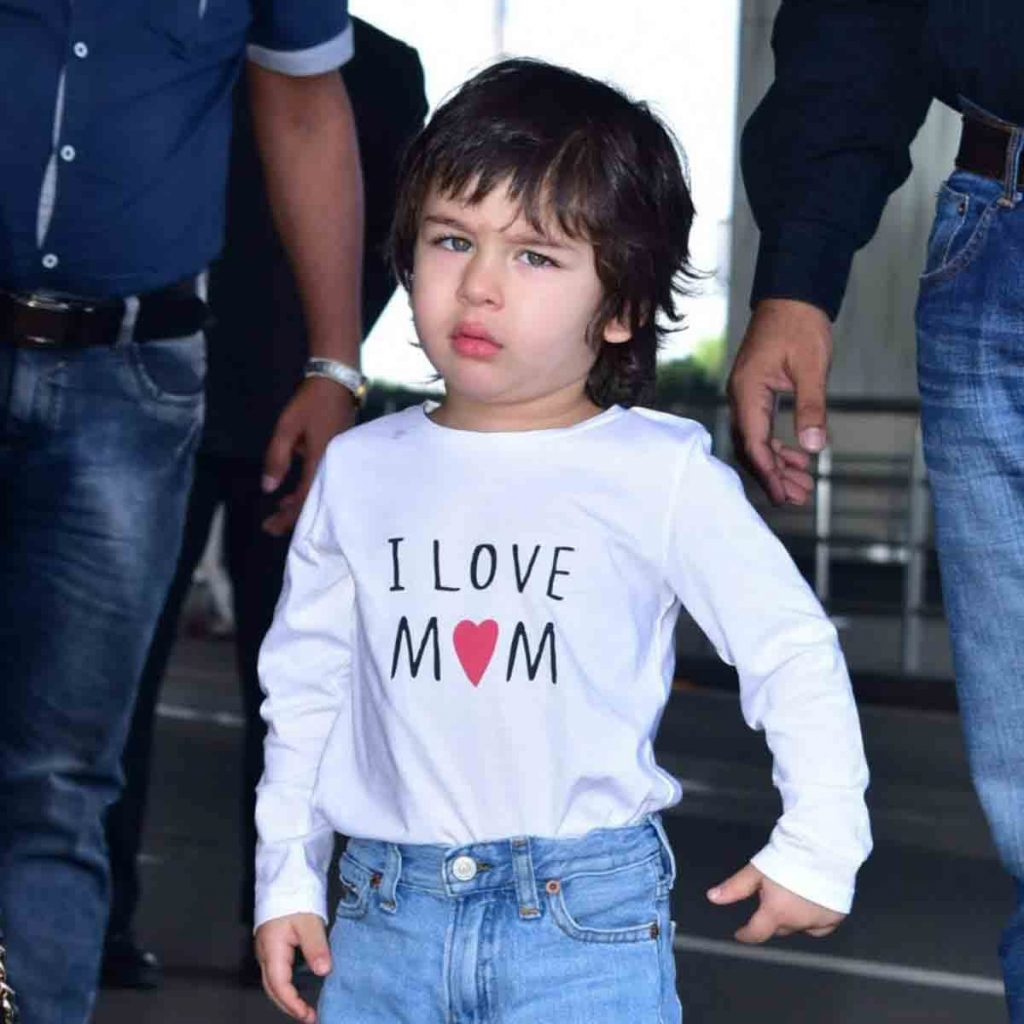 Bollywood star kid Taimur Khan