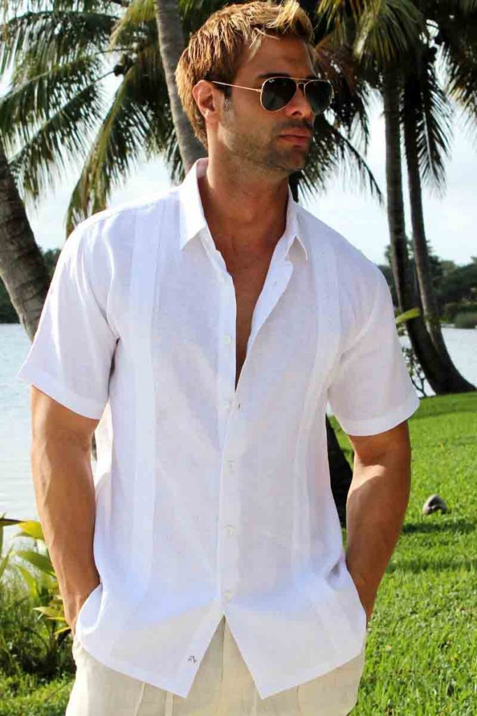 Men Cotton Shirts Fashion For Summer