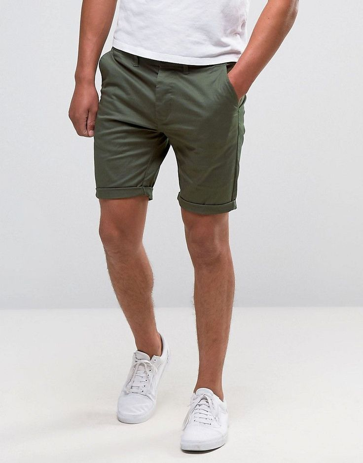 Men Chino Shorts For Summer