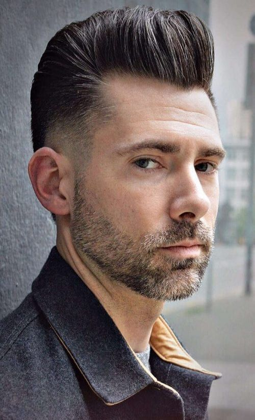 men's Hairstyle High Top Fade