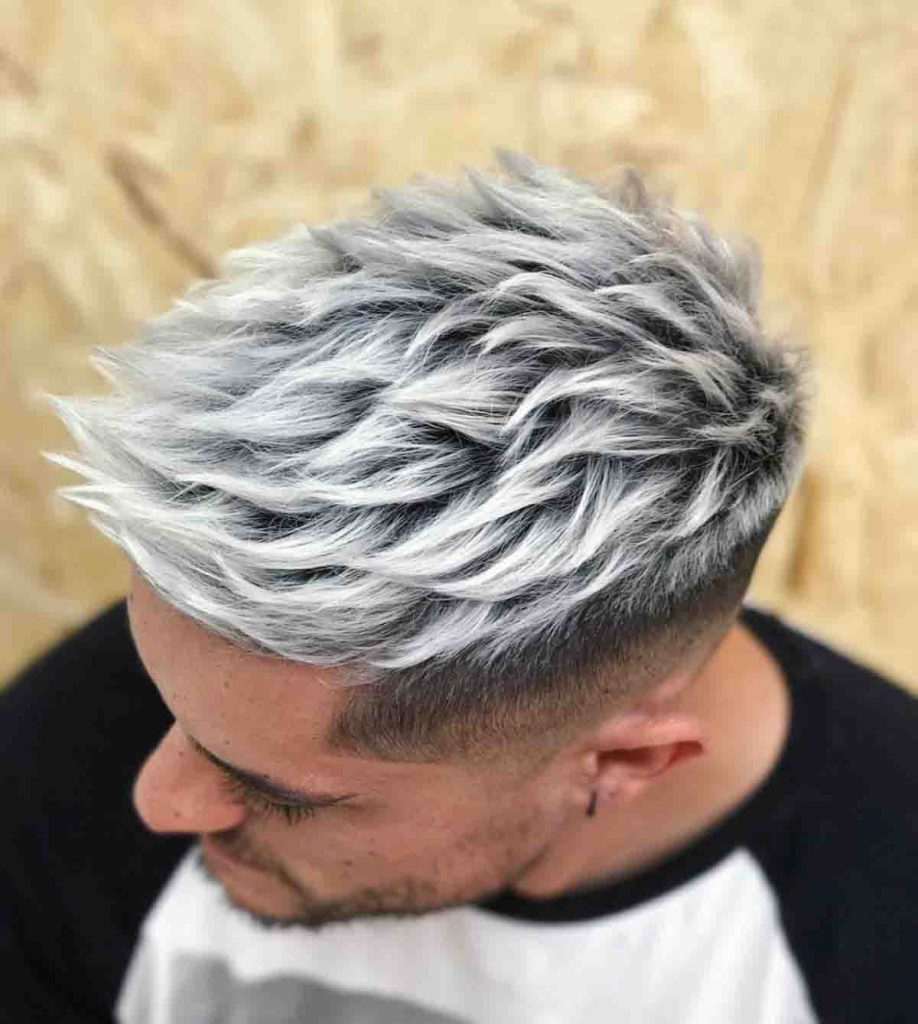 Men's hair color trends in 2020