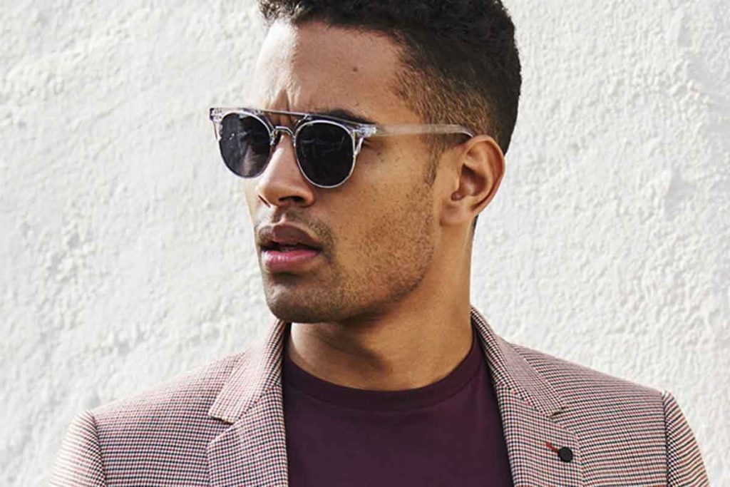 Men's top bar sunglasses fashion trend in 2020